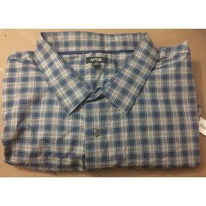 Men's Apt. 9® Big & Tall Stretch Button-Down Shirt